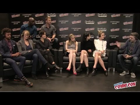 Jessica Jones: Cast  – NYCC 2015 NYCCLive