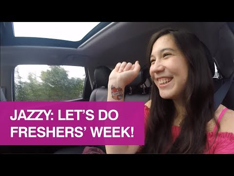 Jazzy: Let's do Freshers' Week!