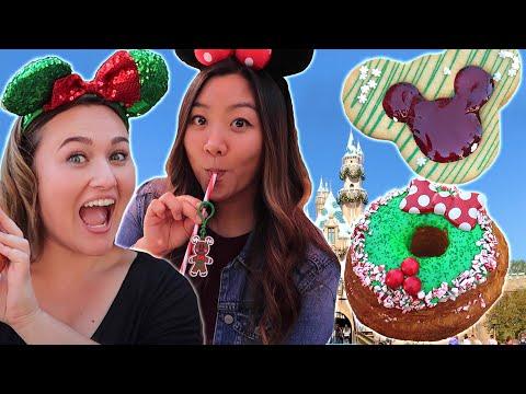 We Tried Disney Holiday Treats