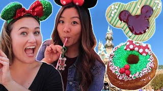 We Went To Disneyland To Try Their Holiday Treats