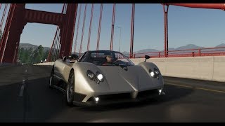 The Crew 2 First Hypercar Race in the Pagani Zonda F
