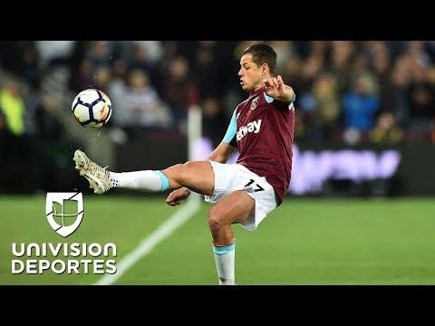 'Chicharito' tiene pocos minutos en un West Ham que va en ascenso, goleó al Stoke City