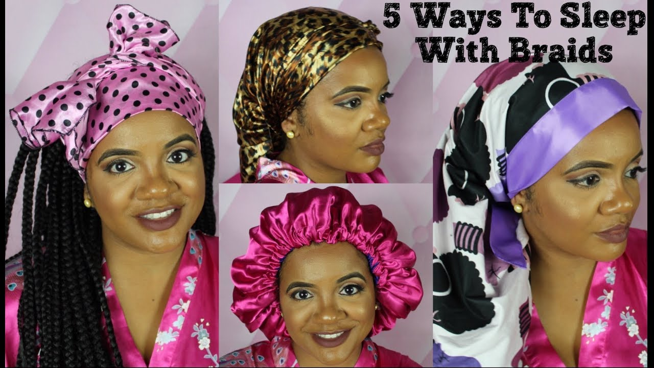 How To Sleep With Box Braids Comfortable Quick And Easy