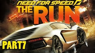 Need for Speed The Run - Walkthrough Part 7-HARD WAY  - (1080p) GTX970 ULTRA