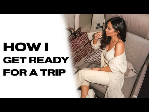 How I Get Ready For A Trip