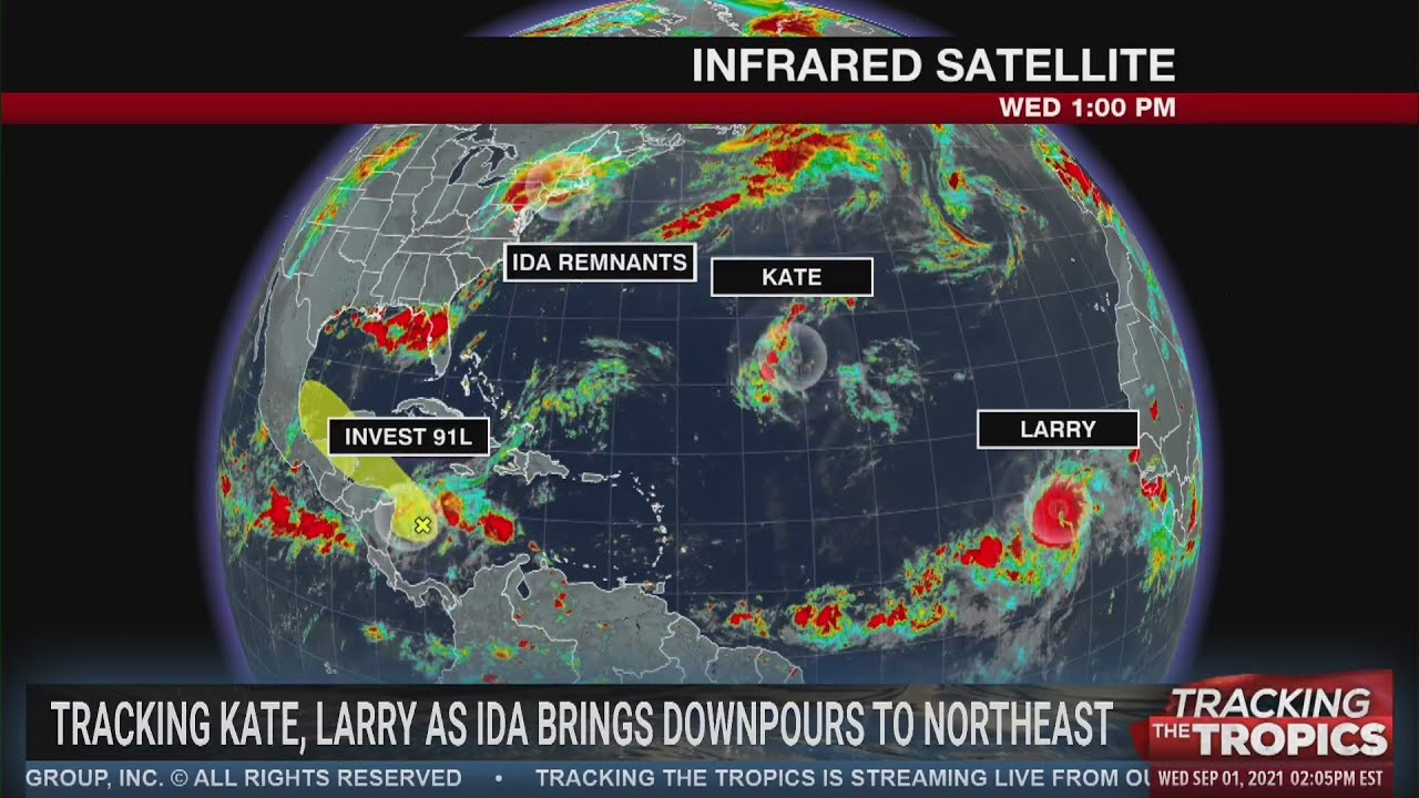 Tracking the Tropics: Tropical Storm Larry forecast to become major ...