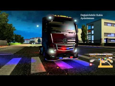 скачать мод неон для Euro Truck Simulator 2 - фото 2