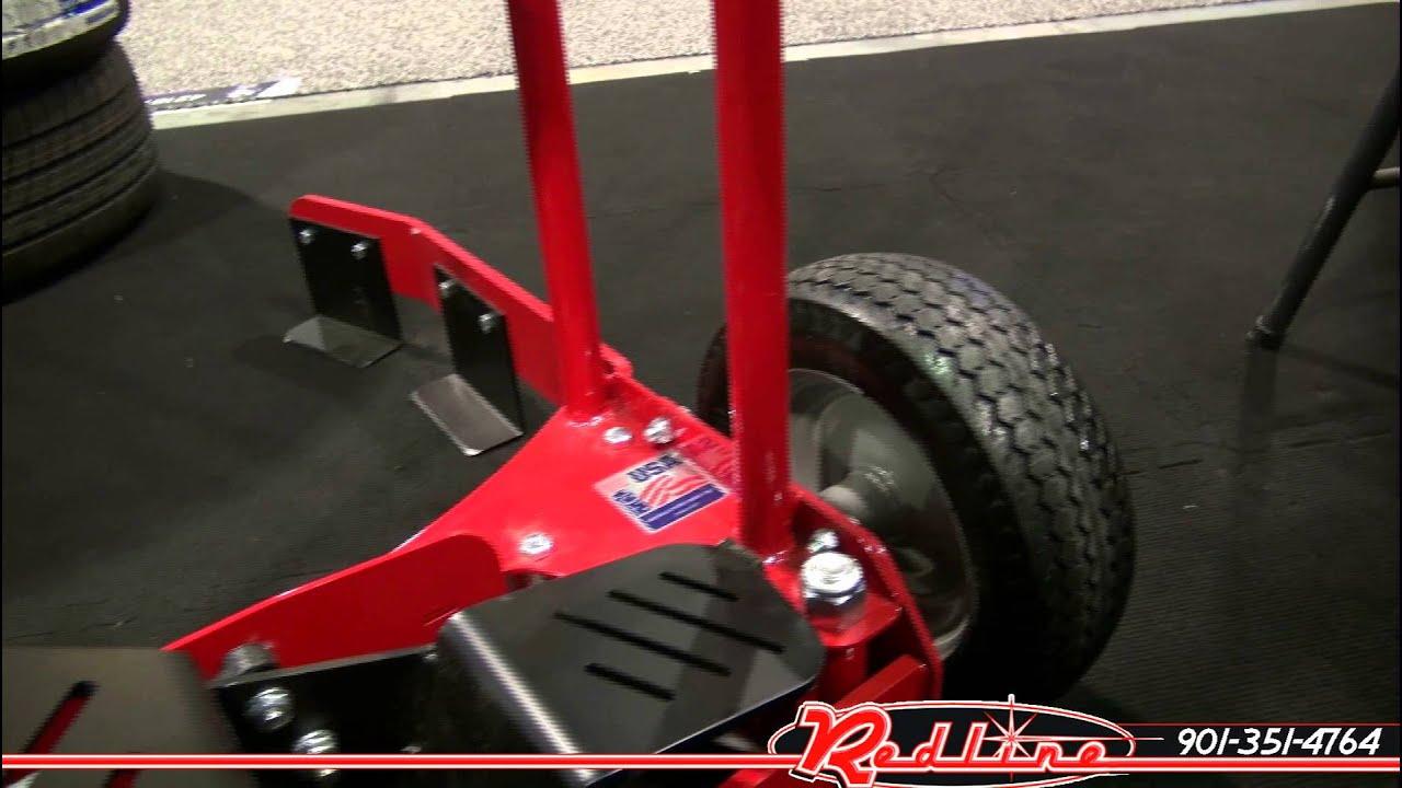 Car Wheel Dolly >> Branick Tire Wheel Dolly Cart - YouTube