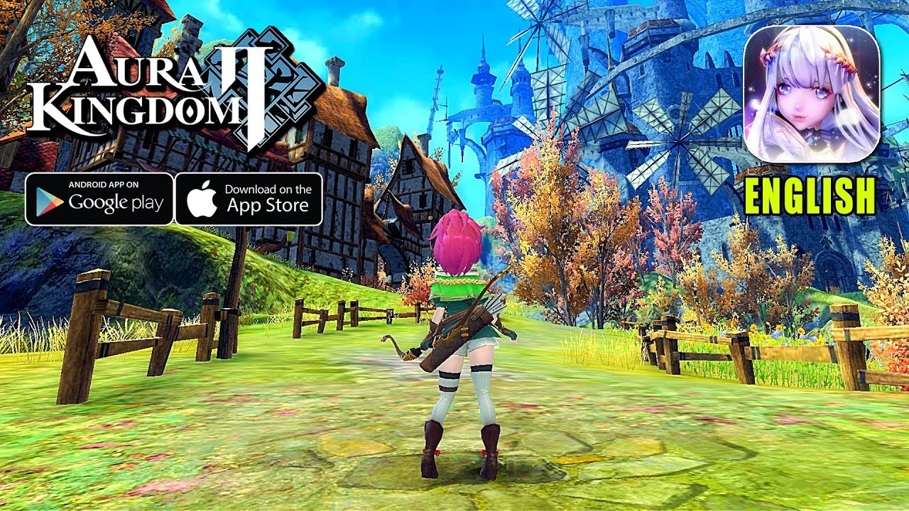 Aura Kingdom 2 - English Version MMORPG Gameplay (Android/IOS)