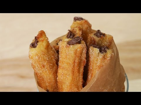 Chocolate Hazelnut Churros