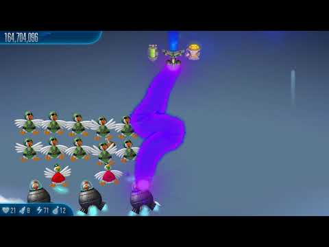 Let's play Chicken Invaders 5 - Cluck of the Dark Side - Chapter 8 - Atmospheric Reentry  