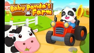 Baby Panda's Farm - Kids' Farmville  Cow and Chicken Feeding - Fruit Growing [Fummy Android Game)