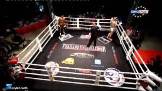 Тайский бокс Муай Тай -- показательный бой