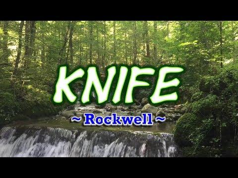 Knife -  Rockwell (KARAOKE)