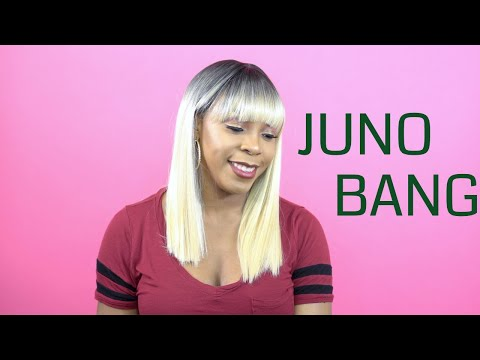 Outre Synthetic Quick Weave Complete Cap - JUNO BANG --/WIGTYPES.COM