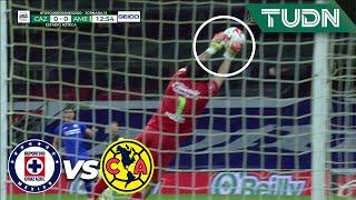 ¡Corona! 'Chuy' hace un gran desvío | Cruz Azul 0-0 América | Guard1anes 2020 Liga Mx - J12 | TUDN