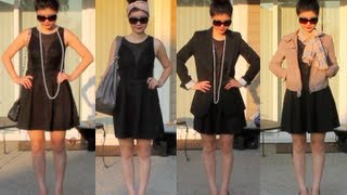 10 Ways to Style The Little Black Dress