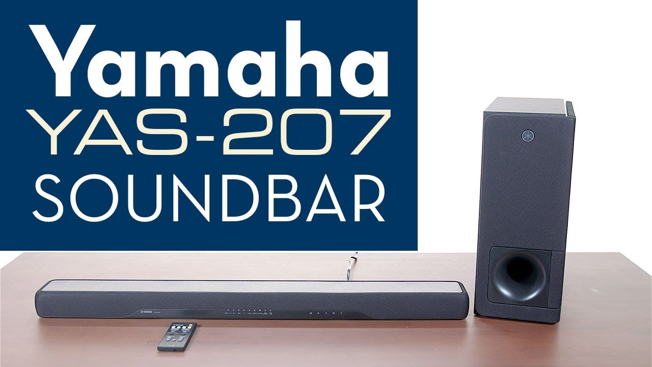 yamaha soundbar yas 207 overview youtube. Black Bedroom Furniture Sets. Home Design Ideas