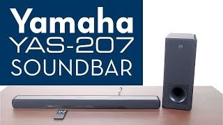 Yamaha Soundbar YAS-207 Overview