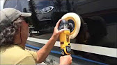 How To Remove Scratches From Gelcoat YouTube - Lund boat decals easy removalboat decal removal youtube