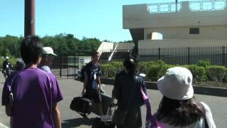 2010年9月18日 サンフレッチェサポのバス待ち