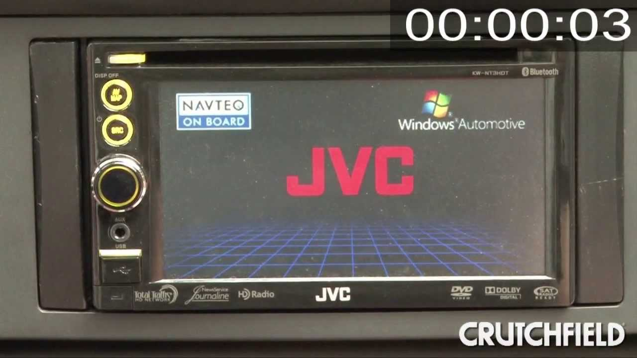 Drivers JVC KW-NT300 Car Navigation