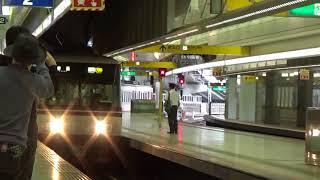 2017/10/14 西鉄天神駅 8051F 入線