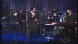 Nick Cave & The Bad Seeds - bring it on [live at letterman] [june 2003]