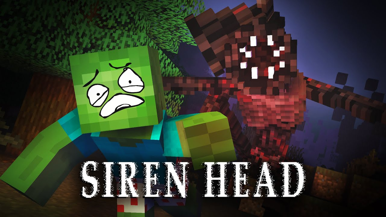 MONSTER SCHOOL : SIREN HEAD CHALLENGE - Minecraft Animation