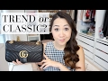 GUCCI MARMONT FLAP BAG | First Impressions