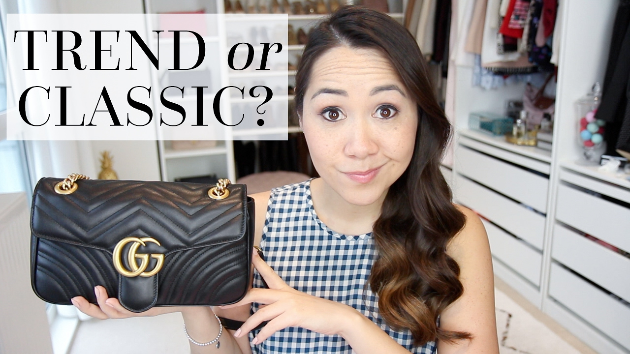5f3519fcd1fb GUCCI MARMONT FLAP BAG | First Impressions - YouTube