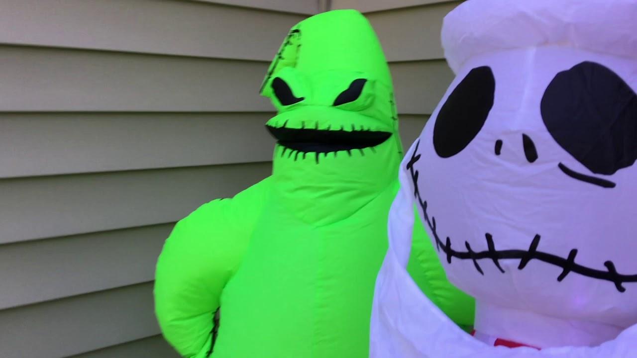 Ryan's Halloween 2020 Inflatables
