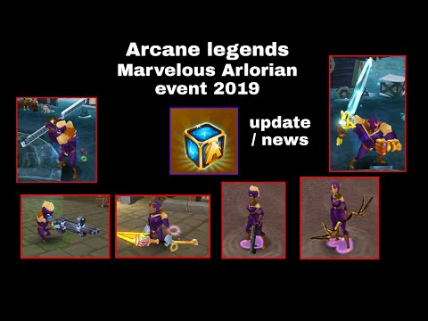 Arcane Legends Marvelous Arlorians 2019 Forums ( No Gameplay )