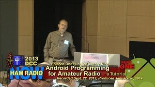 Episode 129-1 from the DCC: Android Programming Tutorial, Part 1