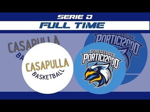 Basket Casapulla Vs Portici 2000 - Serie D