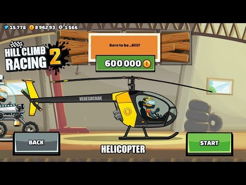 Hill Climb Racing 2 - NEW HELICOPTER 😱 (CREATE CAR)