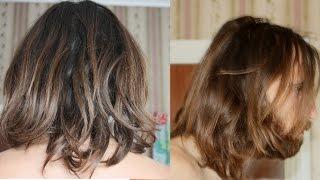 Корица для волос часть 2 / натуральное восстановление и осветление волос