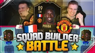 FIFA 19: INFORM POGBA Squad Builder Battle 🔥🇫🇷