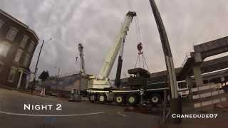 orbp i 65n main st overpass beam install