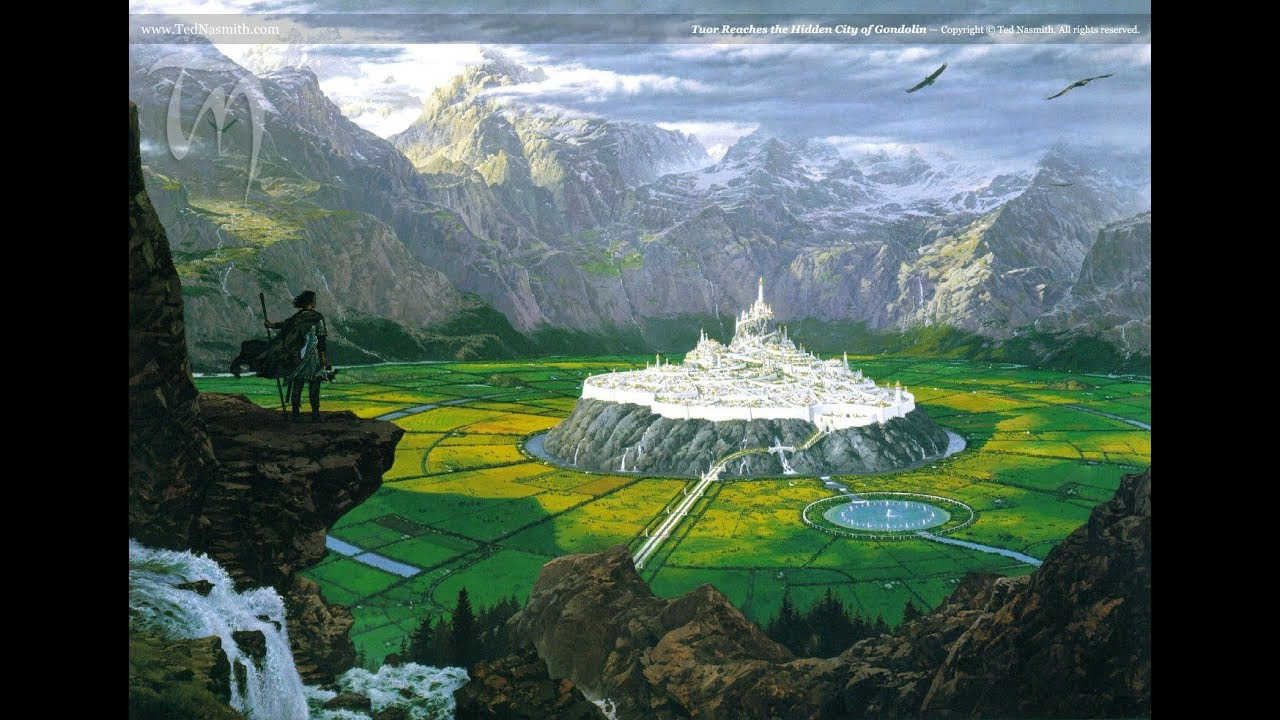 Fall Fantasy Wallpaper Exploring Middle Earth The Fall Of Gondolin Youtube