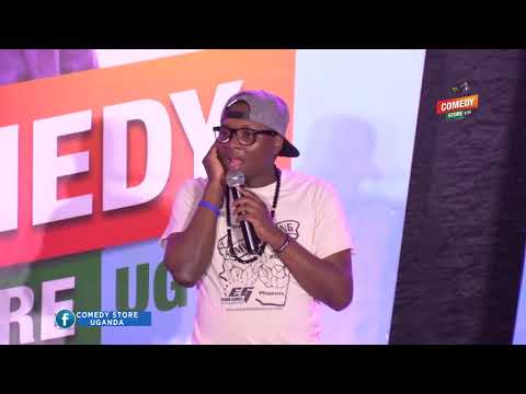 Alex Muhangi Comedy Store Sept 2018 - The Talkers (Lodge)