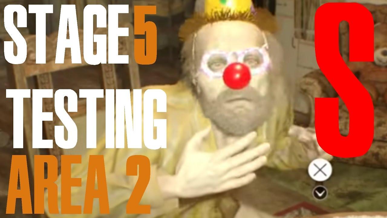 TESTING AREA 2 S RANK - Resident Evil 7: Biohazard Jack's ...