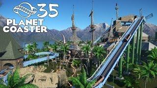 Planet Coaster Тяжёлые времена ☀35