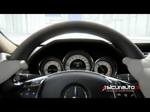 Mercedes Intelligent Drive - PRE-SAFE con Riconoscimento Pedoni   Sub-ITA