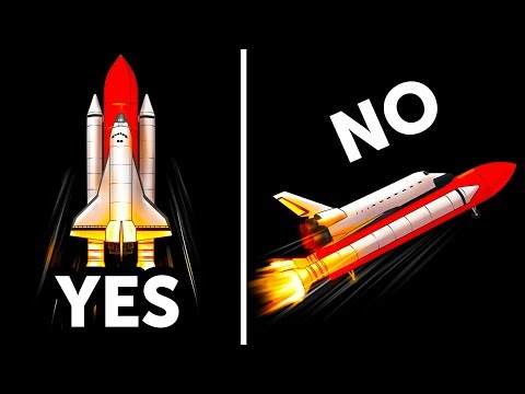 Why Space Shuttles Take Off Only Vertically