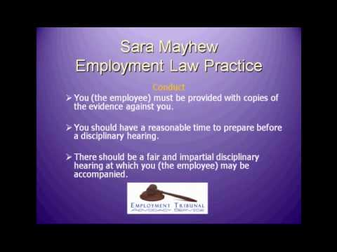 Employment Law Practice: Unfair Dismissal