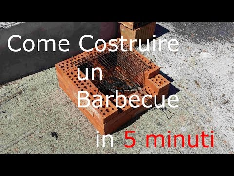 Come costruire un barbecue in 5 minuti dreamer youtube for Come costruire un garage in mattoni