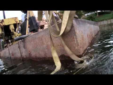 Air Tank Boat Lift Salvage