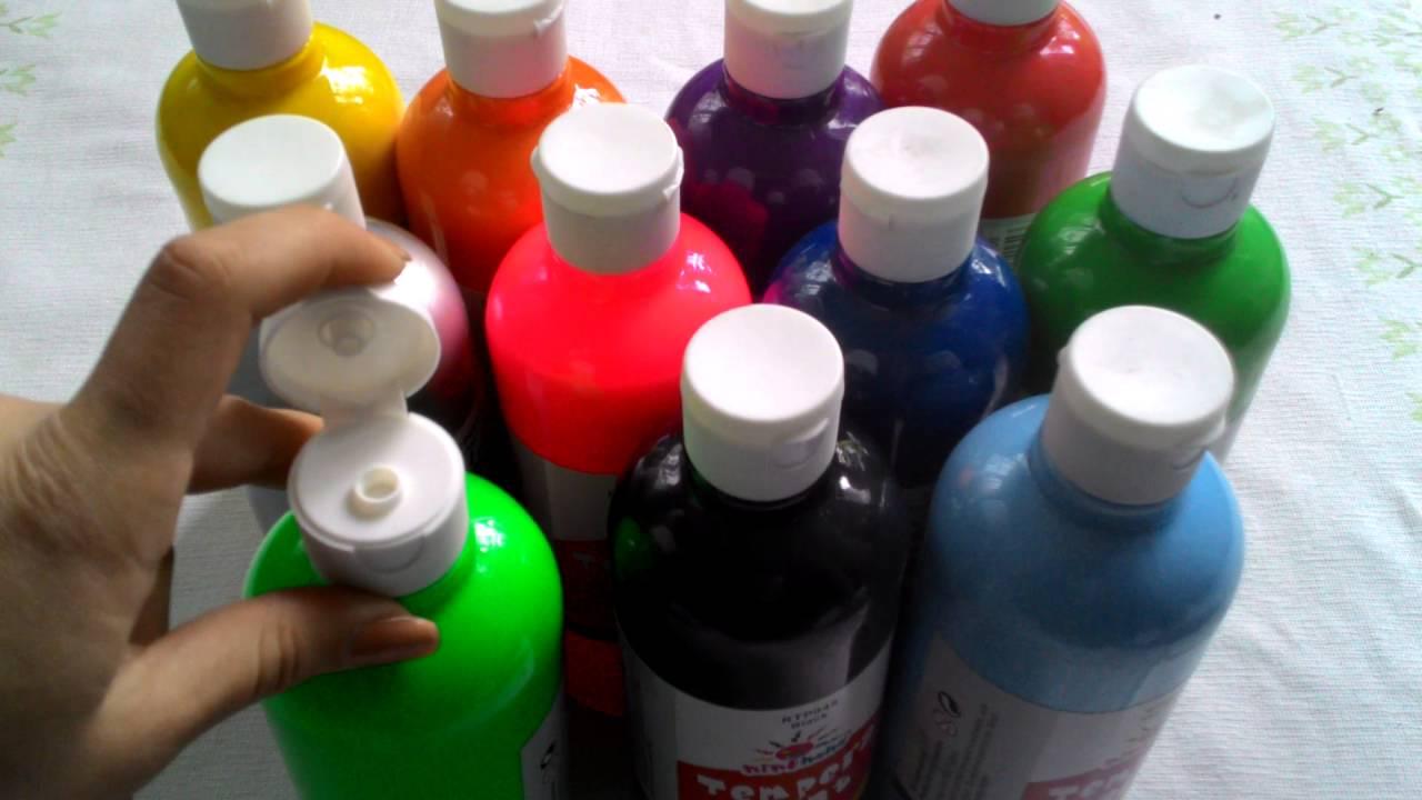 Как сделать краски гуашь в домашних условиях фото 698