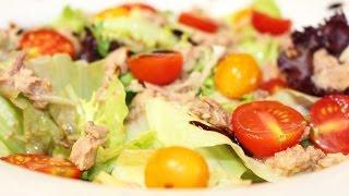 Праздничный праздничный салат из тунца (когда хочется чего-то вкусненького)
